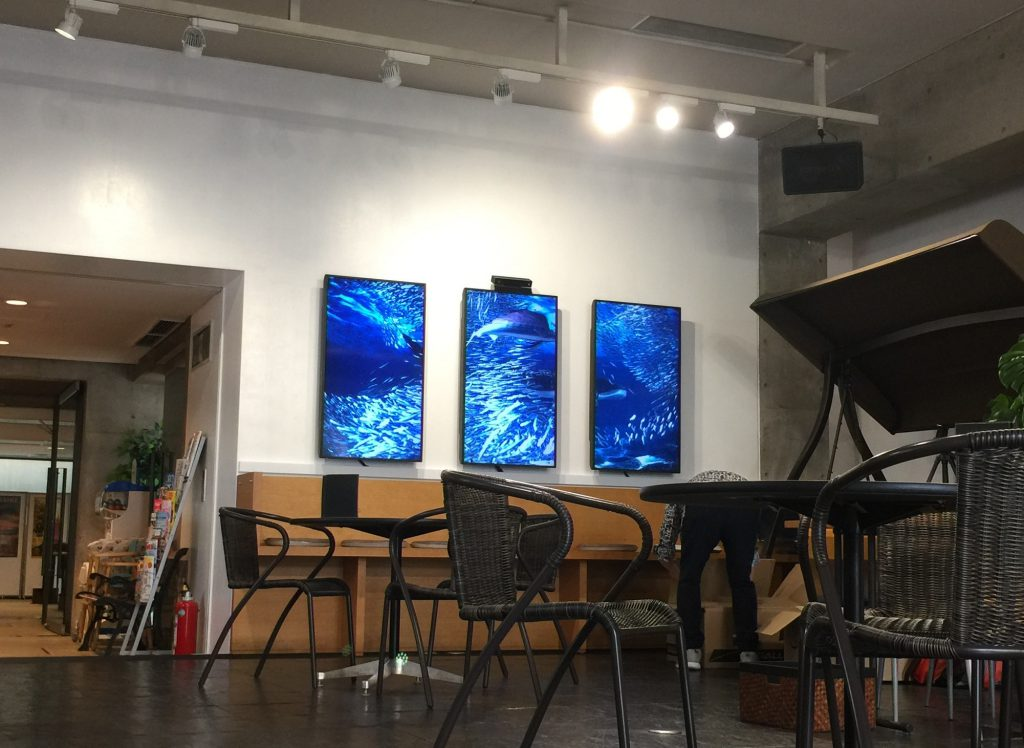「Aquarythm」が「ネッツトヨタ京都 北大路高野店」様に設置されました