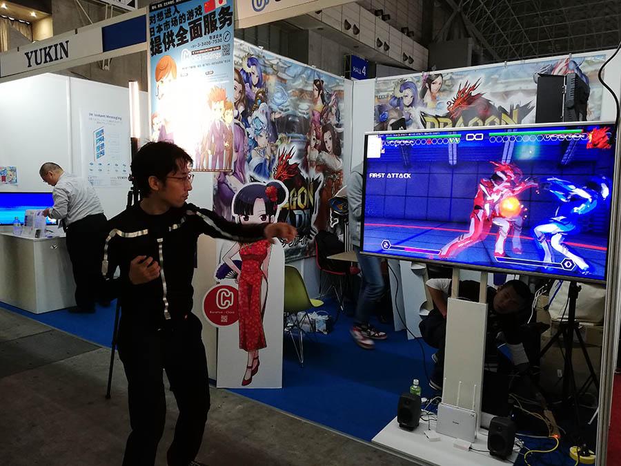 EF-12がデモゲームとしてTGS2018に出展されました